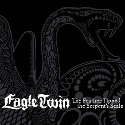Eagle Twin 'The Feather Tipped The Serpent's Scale' Artwork