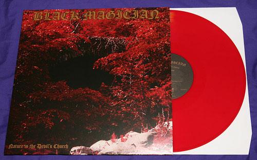 Black Magician 'Nature Is The Devil's Church' vinyl