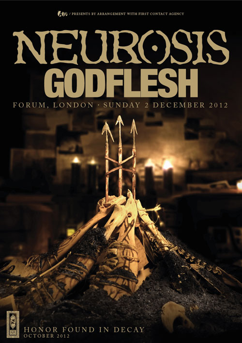 Neurosis / Godflesh - HMV Forum, London 2012