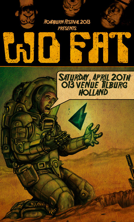 Roadburn 2013 - Wo Fat