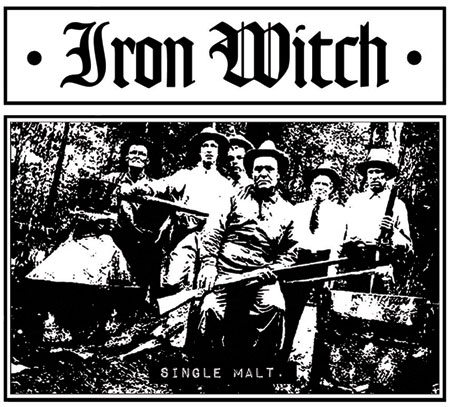 Iron Witch 'Single Malt' Artwork