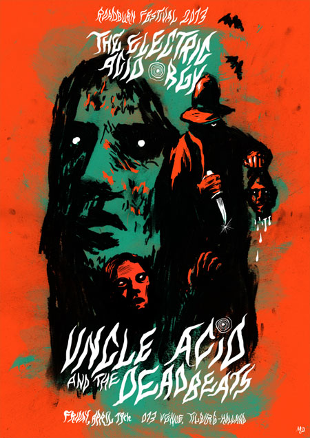 Roadburn 2013 - Uncle Acid And The Deadbeats