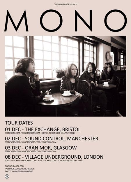 Mono - UK Tour 2012