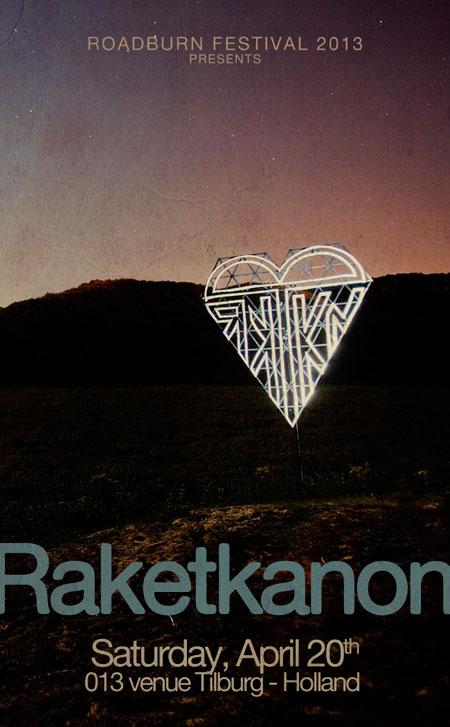 Roadburn 2013 - Raketkanon