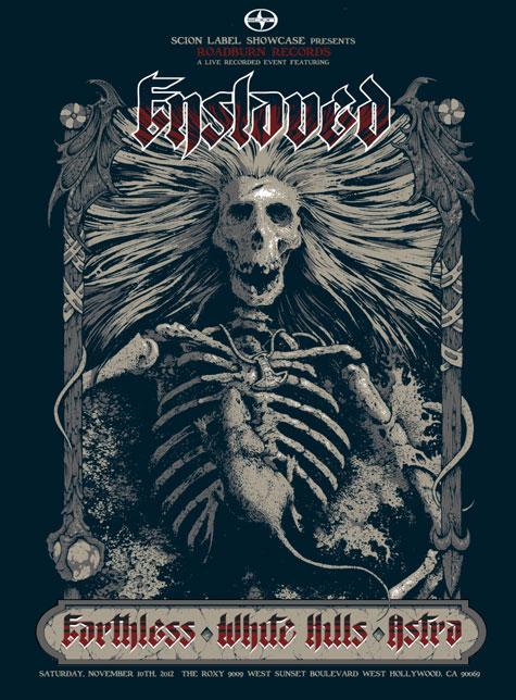 Roadburn Records Showcase Poster by Arik Roper