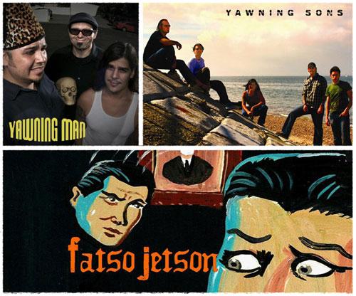 Yawning Sons / Yawning Man / Fatso Jetson