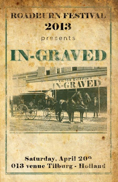 Roadburn 2013 - Victor Griffin's In~Graved