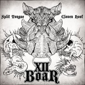 X11 Boar 'Split Tongue Cloven Hoof' Artwork