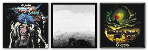 Dr John / Eidetic Seeing / Fellwoods - Album Artwork