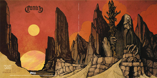 Conan 'Mount Wrath - Live At Roadburn 2012' Artwork