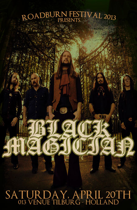 Roadburn 2013 - Black-Magician