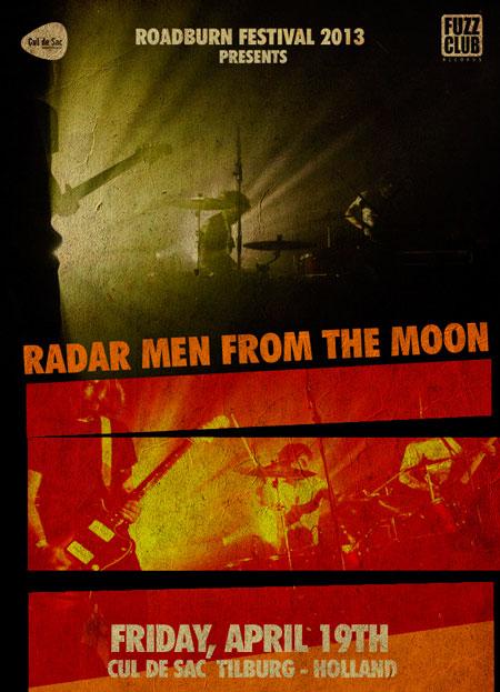Roadburn 2013 - Radar Men From The Moon