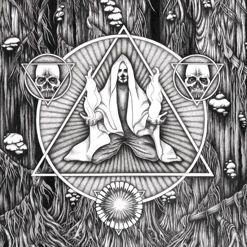 """Lazarus Blackstar / Headless Kross - Split 12"""" Artwork"""