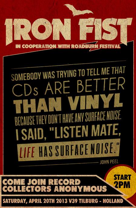 Roadburn 2013 - Iron Fist Record Collectors Anonymous