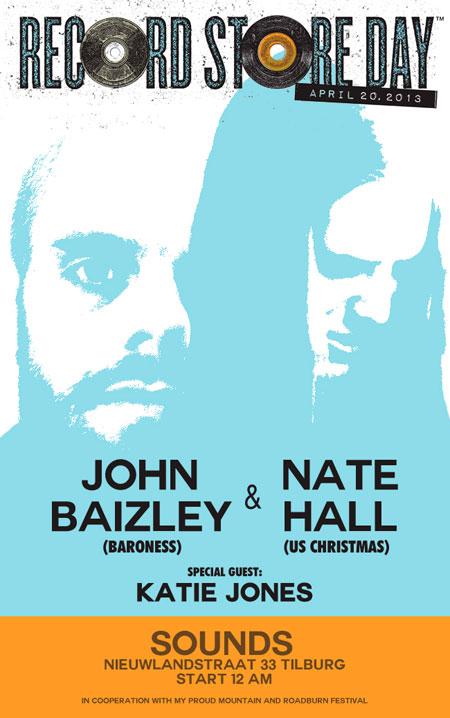 Roadburn 2013: John Baizley & Nate Hall - International Record Store Day