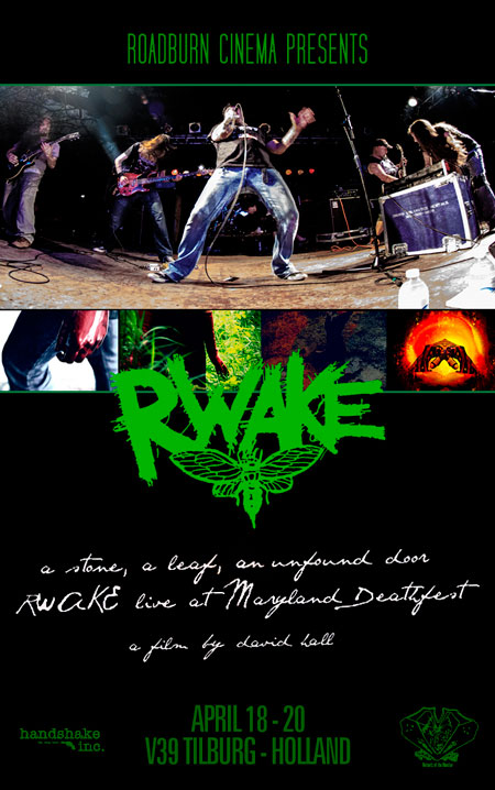 Roadburn 2013 - A Stone, a Leaf, an Unfound Door: Rwake Live at Maryland Deathfest X