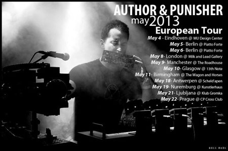 Author & Punisher - Euro Tour 2013
