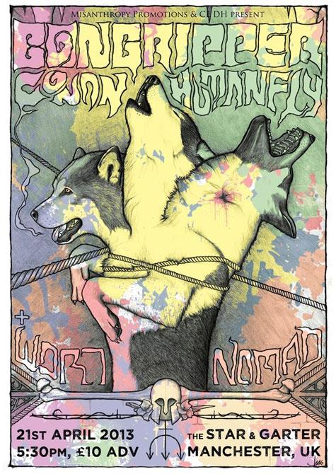 Bongripper / Conan / Humanfly / Nomad @ The Star & Garter, Manchester 21/04/2013