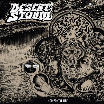 Desert Storm 'Horizontal Life' Artwork
