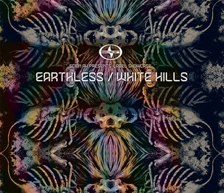 Earthless / White Hills - Scion A/V Roadburn Showcase Artwork