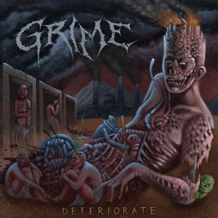 Grime 'Deteriorate' Artwork