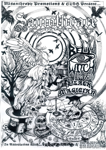 Samothrace / Bell Witch / Black Magician @ The Star & Garter, Manchester, 07/05/2013