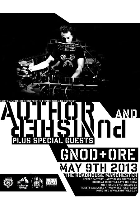 Author & Punisher / Gnod / Ore @ The Roadhouse, Manchester, 09/05/2013