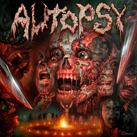 Autopsy 'The Headless Ritual' Artwork