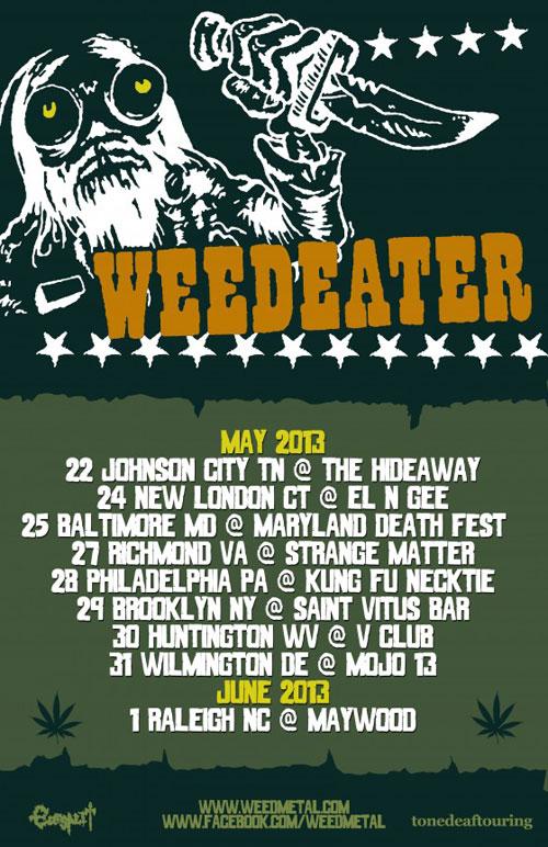 Weedeater - East Coast US Tour 2013