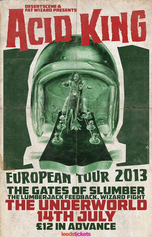 Acid King @ The Underworld, Camden 14/07/2013