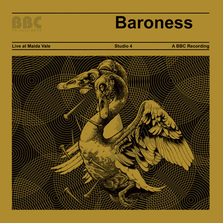 Baroness 'Live At Maida Vale' Artwork