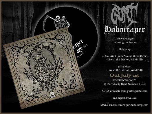 Gurt 'Hoboreaper' EP Advert