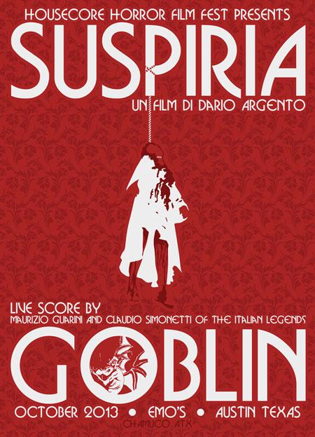 Housecore Horror Film Festival 2013 - Goblin Scores Suspiria