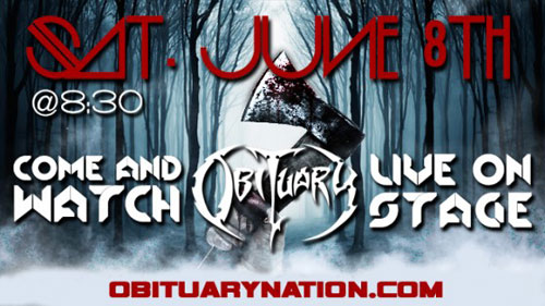 Obituary - Live Webcast 08/06/2013