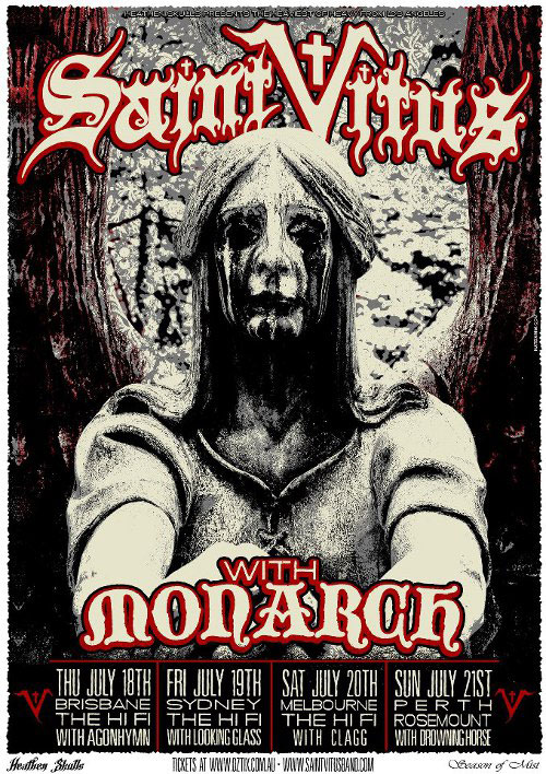 Saint Vitus - Australian Tour 2013
