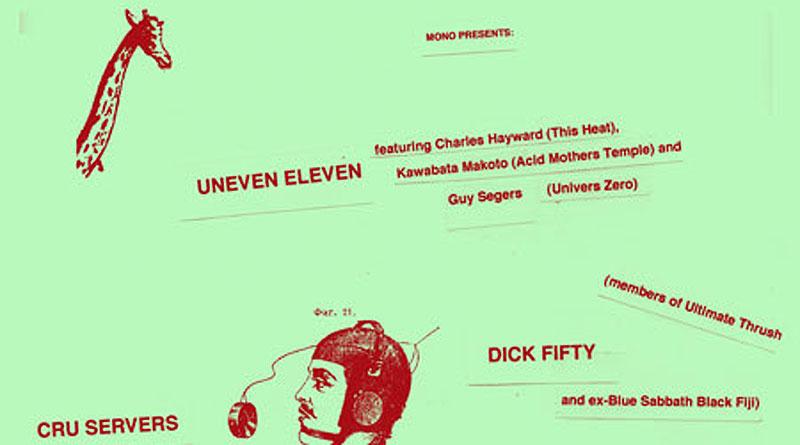 Uneven Eleven @ Mono, Glasgow 27/05/2013
