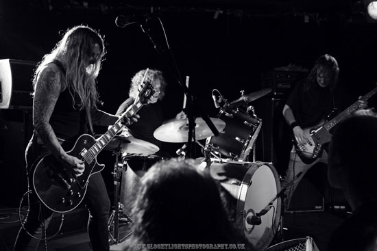 Acid King @ The Underworld 14/07/2013 - Photo by Gemma Shaw