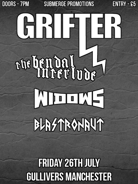Grifter @ Gullivers, Manchester 26/07/2013
