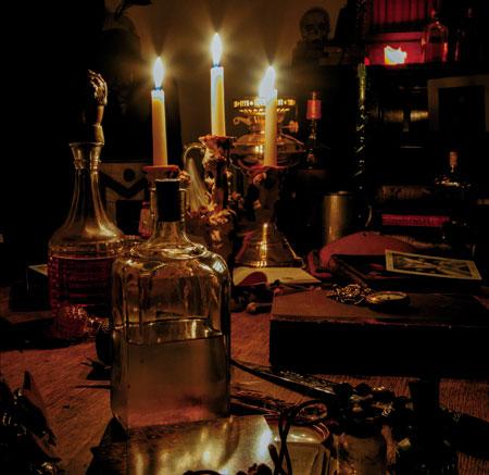 Black Magician 'The Pursuivant' EP Artwork
