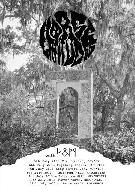 Horse Latitudes / S&M – UK Tour 2013