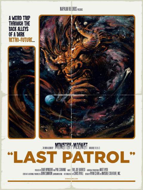 Monster Magnet 'Last Patrol' Poster