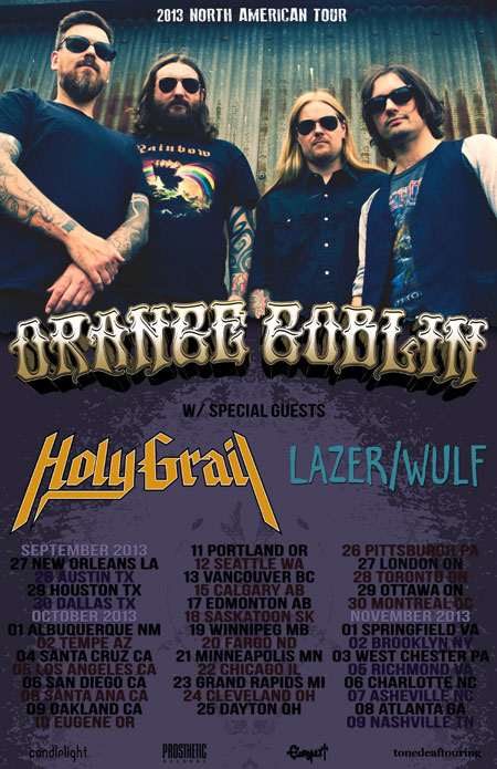 Orange Goblin - North American Tour Autumn 2013