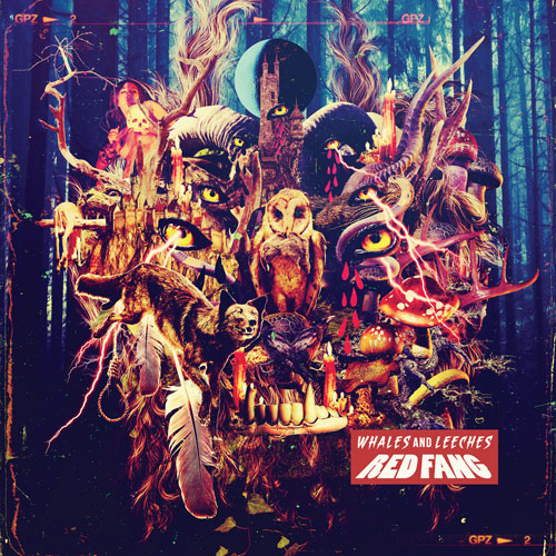 Red Fang 'Whales And Leeches' Artwork