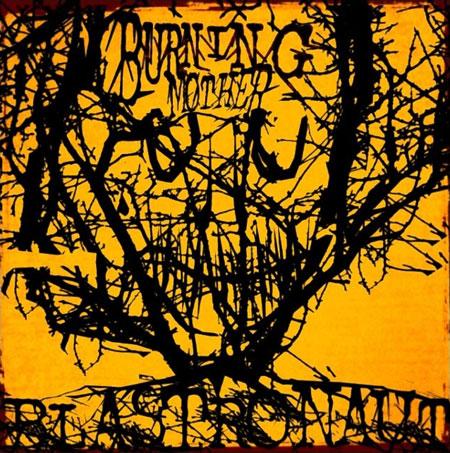 Blastronaut 'Burning Mother' Artwork