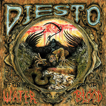 Diesto 'For Water Or Blood' Artwork