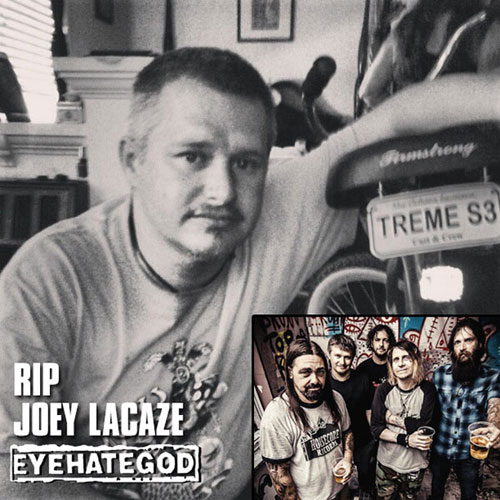 RIP Joey LaCaze - EyeHateGod 2013