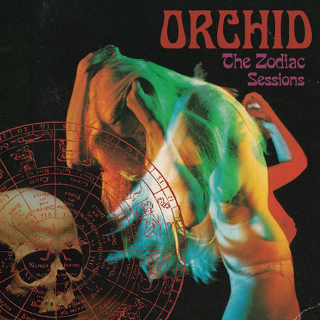 Orchid 'The Zodiac Sessions' Artwork