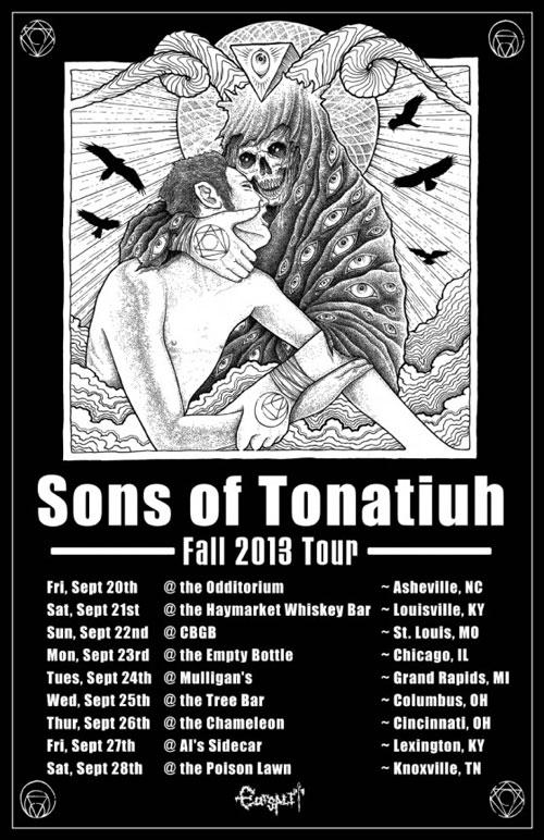 Sons Of Tonatiuh - Fall US Tour 2013