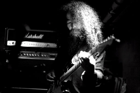 Acid Mothers Temple @ Nice & Sleazy, Glasgow 12/10/2013 - Photo by Peter Davidson