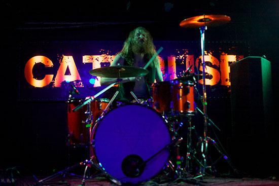 Kadavar @ The Cathouse, Glasgow 25/10/2013 - Photo by Alex Woodward